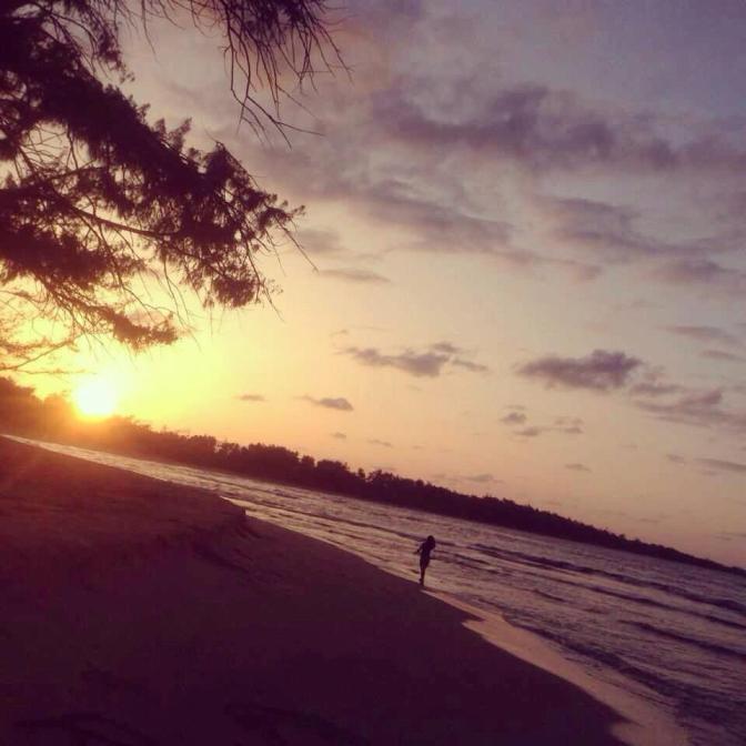 私がオアフで1番好きなビーチ