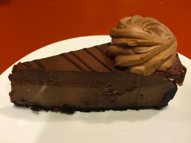 チーズケーキファクトリーのGODIVAチーズケーキが美味しい!