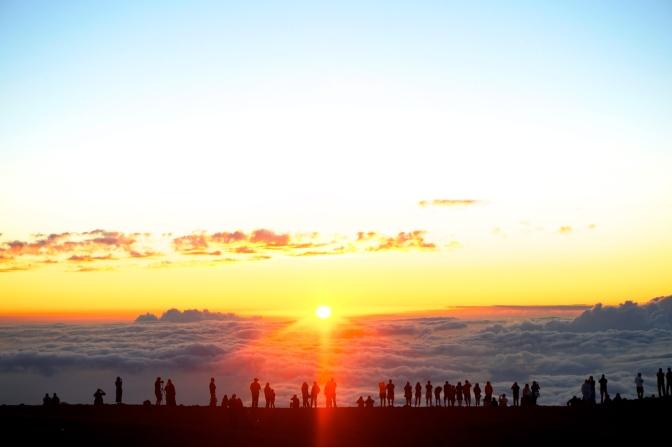 雲の上の世界!ハレアカラの夕日
