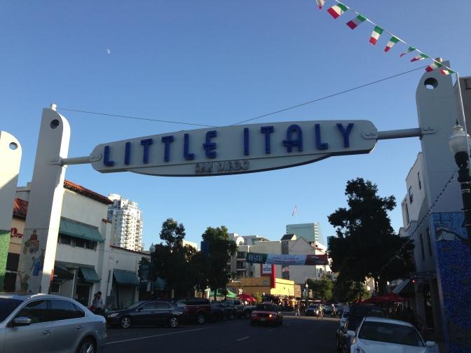 サンディエゴ、リトルイタリーのケーキ屋さん