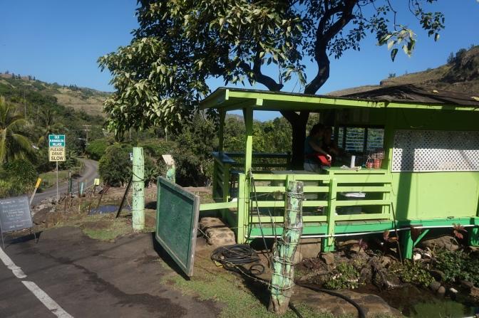 カハクロア村で絶品バナナブレッド
