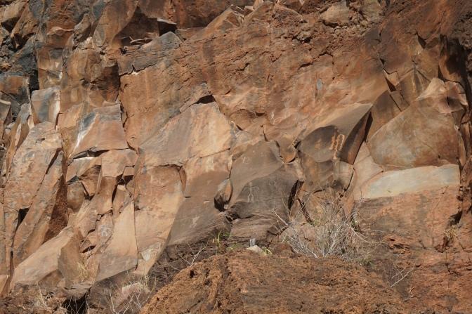 オロワルで発見!古代ハワイアンの象形文字ペトログリフ