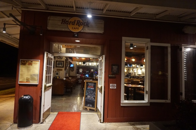 ハードロックカフェでカクテルナイト!甘かった・・・