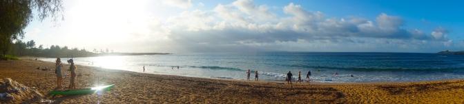 カパルアのフレミングビーチ