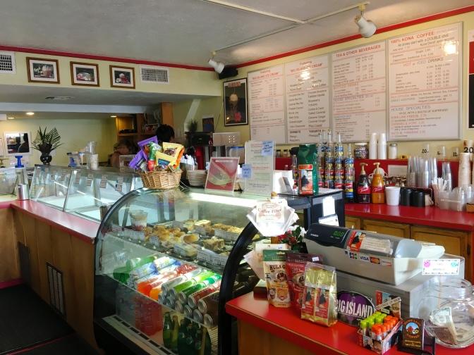 コナのアイスクリーム屋さん!Kope Laniでボルケーノアイス