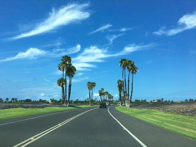 ハワイ島、ビッグアイランドと呼ばれるだけあって本当に広かった!
