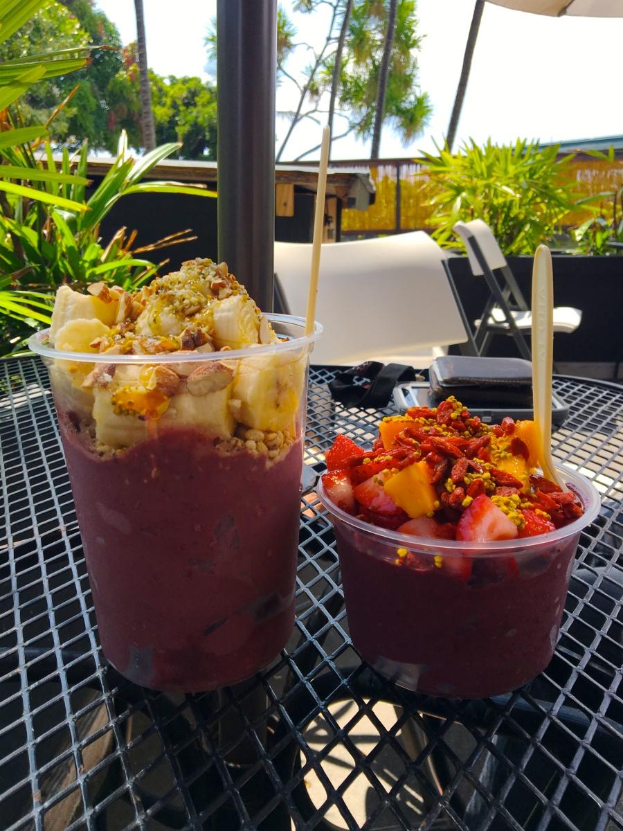 ハワイ島でアサイーボウルなら!ベーシックカフェ