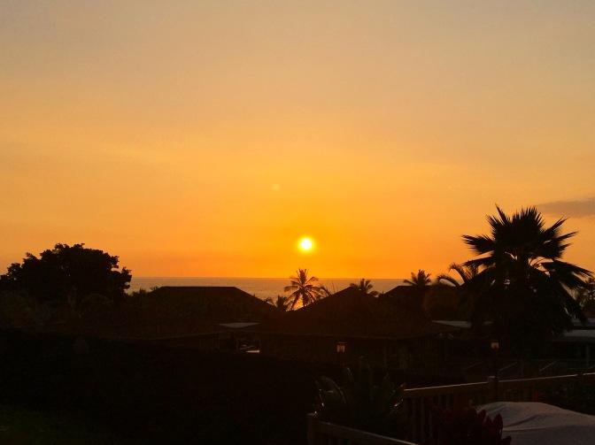 ハワイ島22時間滞在!せめて夕日だけでも・・・