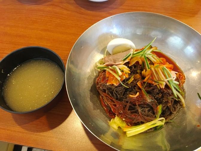 ホノルルで冷麺なら、ユッチャン・コリアン・レストラン