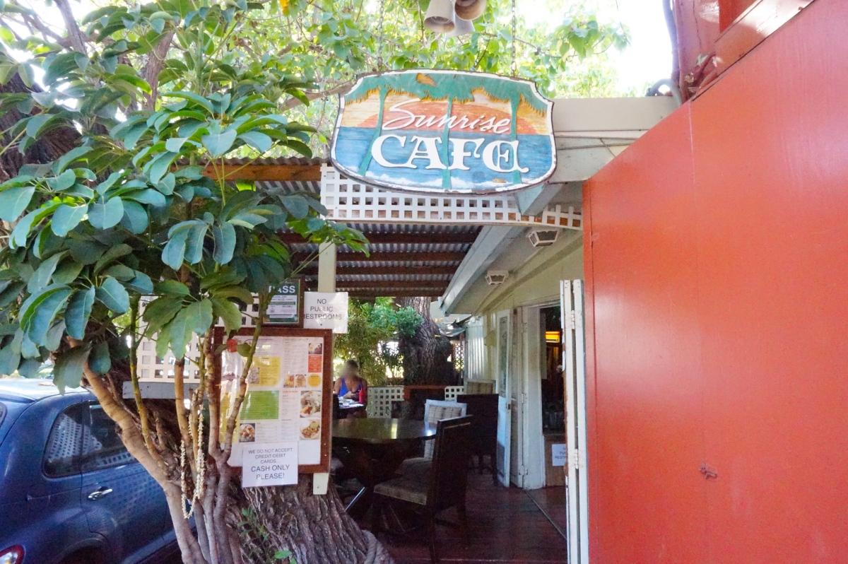 シナモンロールが美味しい!ラハイナのサンライズ・カフェ