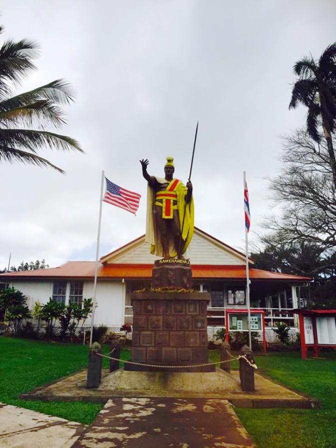 カメハメハ大王の像はハワイだけじゃない!